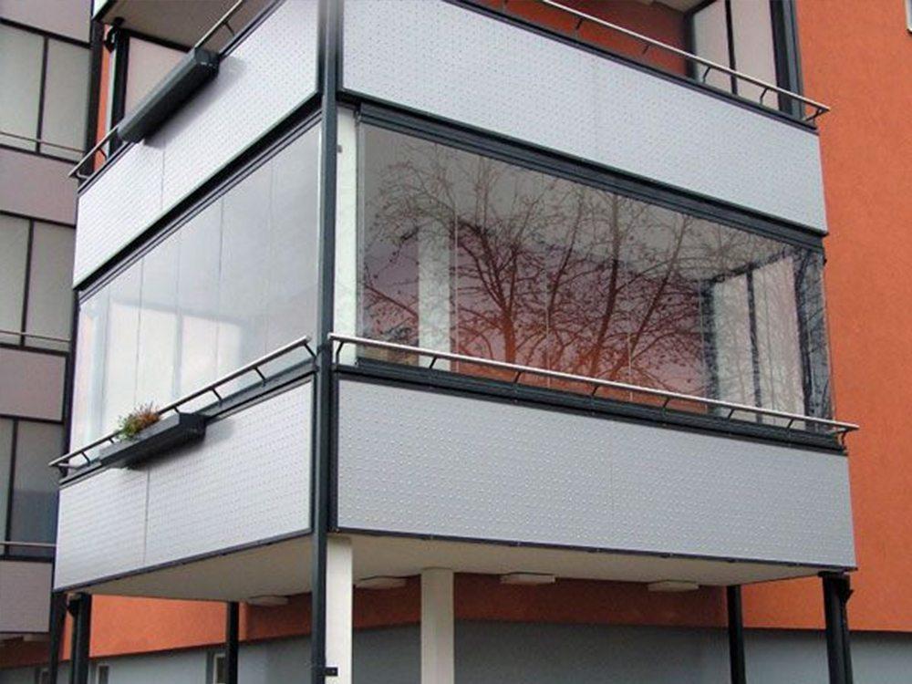 Безрамное остекление балконов и лоджий в барнауле.
